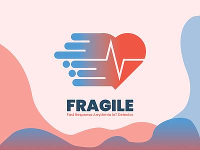 FRAGILE (the logo web of system) weblogodesign designlogo branding logo design