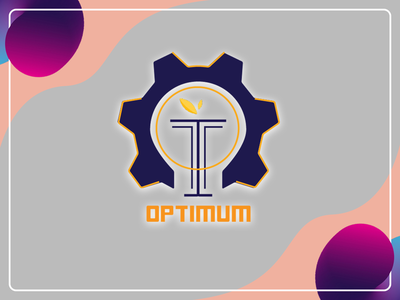 Optimum Logo organizationlogo logo designlogo branding design