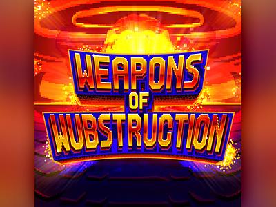 Weapons of Wubstruction pixelart 8-bit 8bit pixel serum