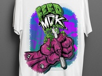 Feed MDK shirt design