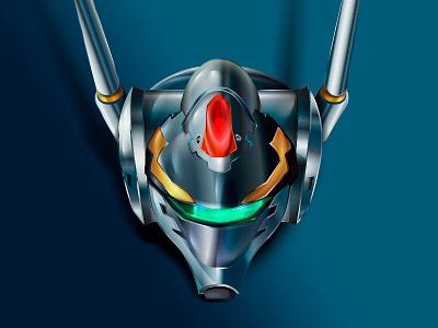 VF-0 Phenoix robotech fighter variable gerwalk battroid head mech anime zero macross