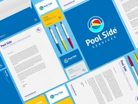 Pool Side Services branding