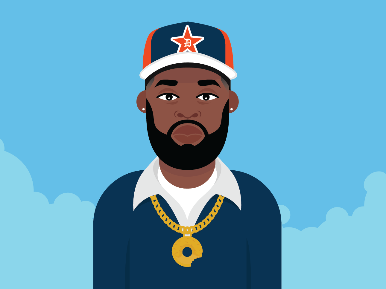 Jay Dee part 2 graphic designer akaimpc mpc producer hiphop jaydee dilladonuts dilla graphic  design vector illustration design