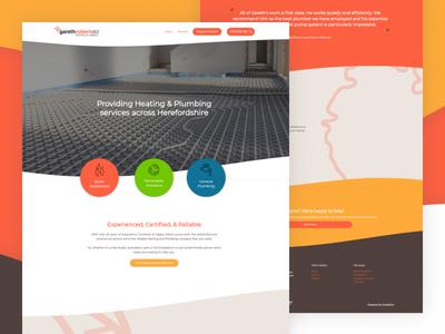 Plumbing & Heating Engineer Website Design