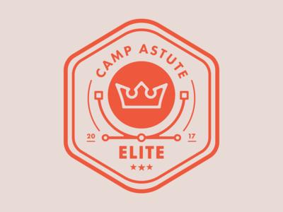 Camp Astute 'Elite' Badge