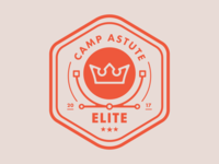 Camp Astute 'Elite' Badge