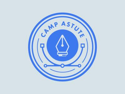 Camp Astute 'Draw' Badge