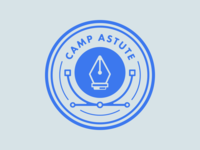 Camp Astute 'Draw' Badge