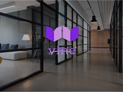 vine inc logo design design logo