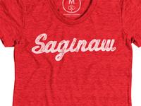 Saginaw, MI Tee ONE HOUR LEFT!