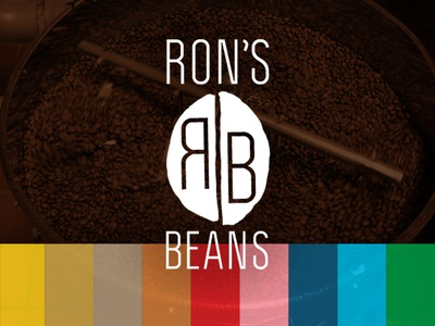 Ron's Beans : Colorway beans colorway coffee branding