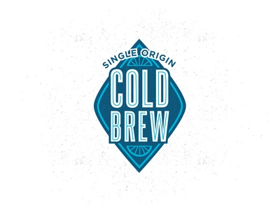 Ron's Beans : Iced Coffee Re-Design bike badge badge inline steelfish gotham bike tire cold brew