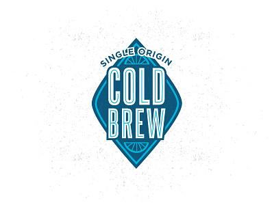 Ron's Beans : Iced Coffee Re-Design bike badge badge inline steelfish gotham bike tire cold brew
