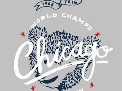 Cubbies Rd 2 wrigley cub bear world series world champions baseball cubs chicago