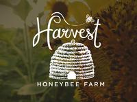 Harvest Honeybee Farm Logo