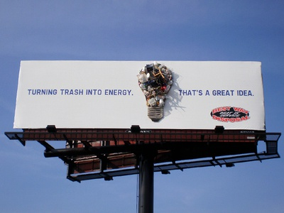 Best Way Disposal Outdoor Campaign