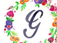 Watercolor G