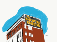 Kalamazoo Building architecture building adobe kalamazoo building kalamazoo illustration