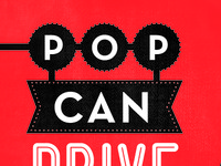 POP CAN DRIVE - round two