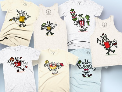Booze Crew on Cotton Bureau