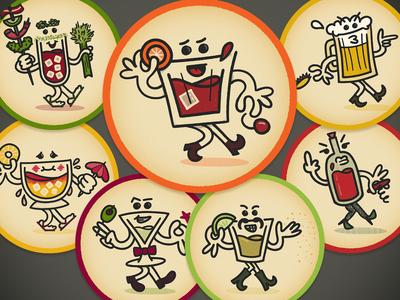 Booze Crew Coasters