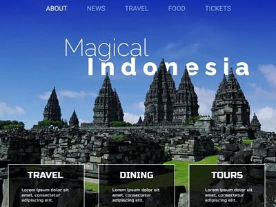 UX design for a travel website app website ui minimal web design ux