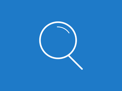 Magnifying Glass Icon icon magnifying glass search graphic glass find illustration illustrator