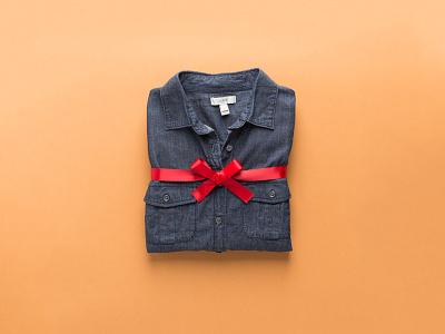 Chambray Shirt shirt clothing photograph ribbon lightroom jcrew