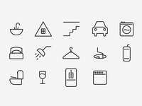 Roost Room Icons