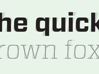 Typographic Italic Drop Shadows