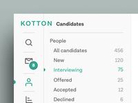 Kotton Dashboard Detail