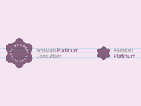Konmari Consultants Line Extension Logos