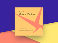 Mozart Mass In C Minor iTunes Album Cover