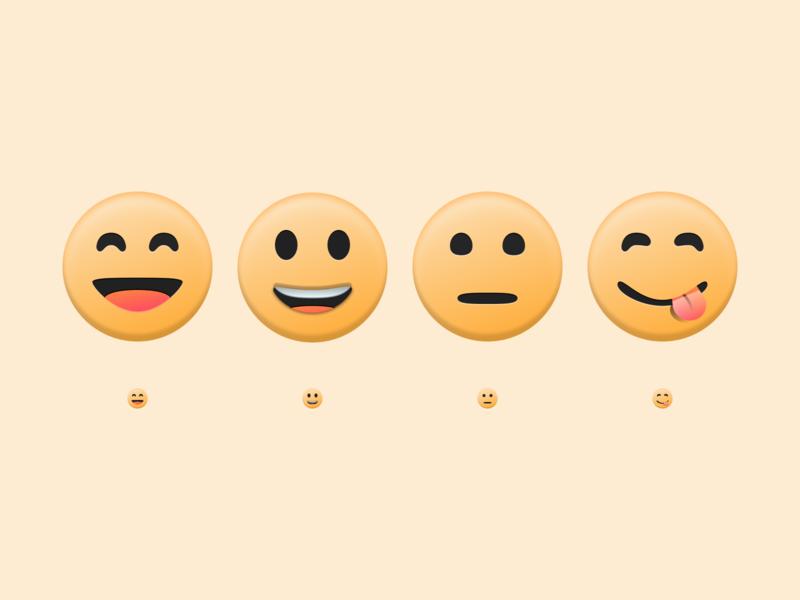 Custom Emoji Set branding emojis keyboard person smiley face hungry bored laugh smile unicode emoticon emoji custom vector illustration