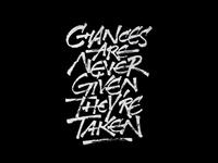 Chances...