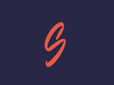 """S"" initial logotype hand-writing typography custom calligraphy sketch инициал лого леттеринг logo script lettering art lettering monogram initial s"