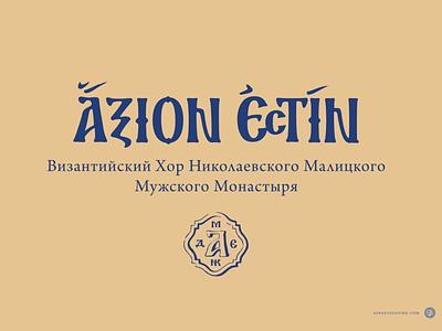 Axion Estin handdrawn леттеринг custom typography lettering logotype mark logo
