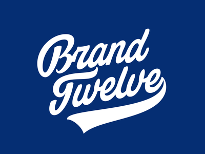 Brand Twelve identity calligraphy custom леттеринг hand drawn branding script typography hand-writing logotype lettering logo