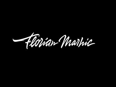 Florian Marhic леттеринг каллиграфия логотип лого brushscript lettering calligraphy logotype logo