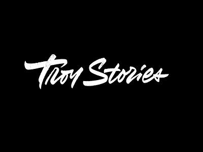 Troy каллиграфия calligraphy леттеринг лого логотип script typography lettering logotype logo