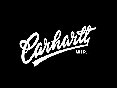 Carhartt 2018 brush-script original authentic custom retro classic logo lettering carhartt-wip carhartt