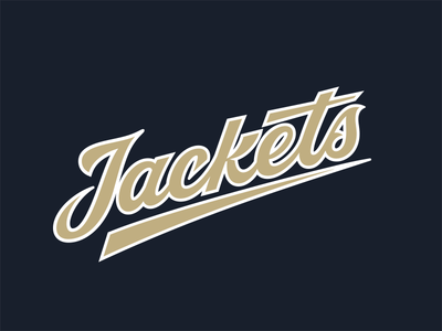 Yellow Jackets yellow jackets jackets georgia georgia tech baseball sport sports lettering lettering