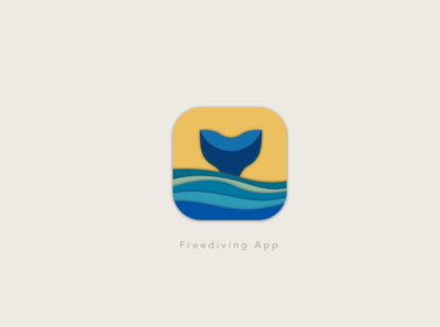 Daily UI 005_App Icon seal ocean freediving sketchapp illustration art ui  ux uidesign dailyui005 dailyuichallenge dailyui app appicon
