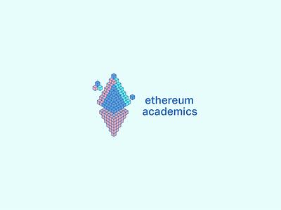 Ethereum Academics visual identity logos illustration branding 30 day logo challenge