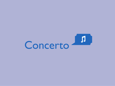 Concerto logocore visual identity logos illustration branding 30 day logo challenge
