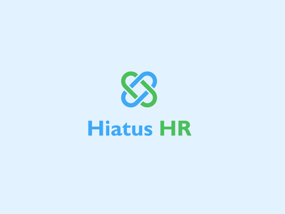 Hiatus HR logocore visual identity logos illustration branding 30 day logo challenge