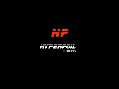 Hyperfoil Clothing logocore visual identity logos illustration branding 30 day logo challenge