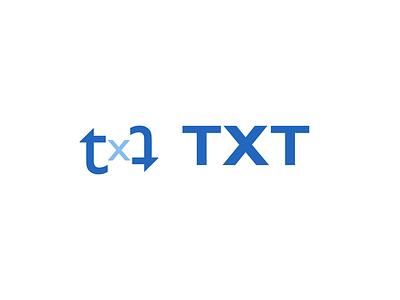 TXT logocore visual identity logos illustration branding 30 day logo challenge