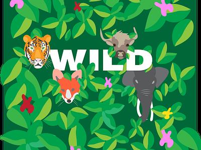 Wild wild digitalart illustration