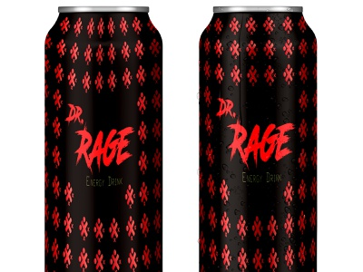 Can MockUp #1 doctor windows texture template mockup design photoshop illustrator waterdrops rage black can mockup red energy logo energy drink